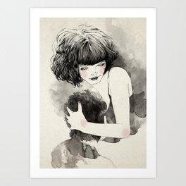 Hugger Art Print