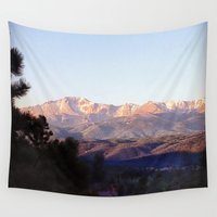 colorado Wall Tapestries featuring Colorado by wendygray