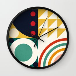 Roud Flow No. 10 Wall Clock