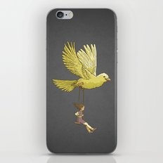 Higher... up to the sky!! iPhone & iPod Skin