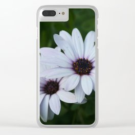 Friendship - Two African Daisies Clear iPhone Case