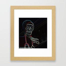 neon jnr dr Framed Art Print
