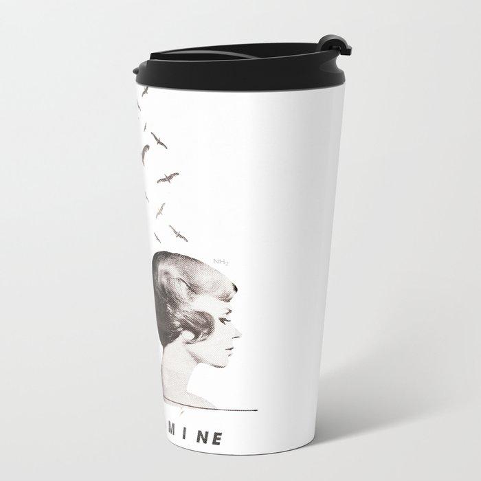 Dopamine | Collage Metal Travel Mug
