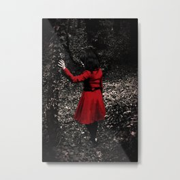 Red Riding Hood 1 Metal Print