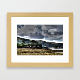 Loch Ailort, Scotland Framed Art Print