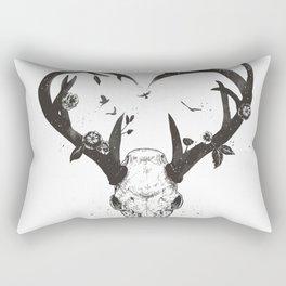 Neverending love (bw) Rectangular Pillow