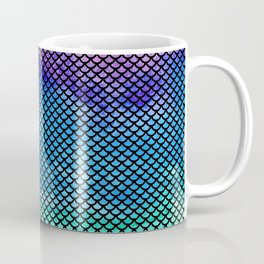 Rainbow Mermaid Tail Coffee Mug