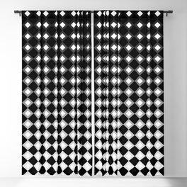 Checker Fade Blackout Curtain