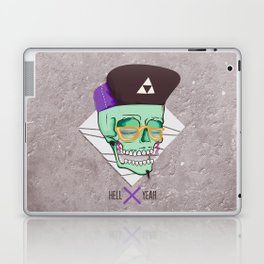 Hell Yeah Skull 3 Laptop & iPad Skin
