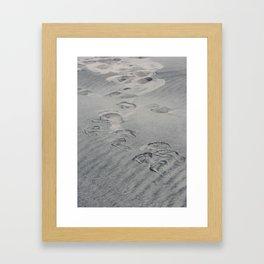 Shadow Palette 2 (barefoot) Framed Art Print