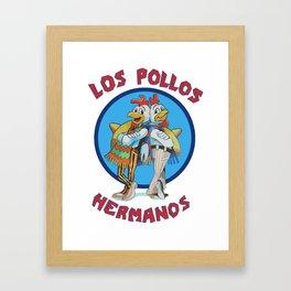Breaking Bad - Los Pollos Hermanos Framed Art Print