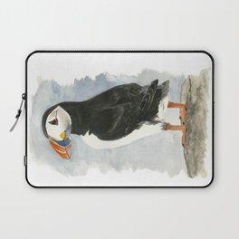 Atlantic Puffin - Watercolor Laptop Sleeve