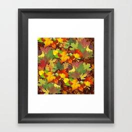 Fall Colorblast Framed Art Print