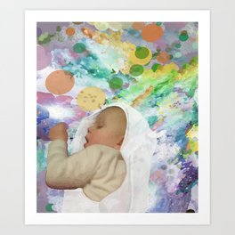 Great Achievements all begin with a Dream Art Print