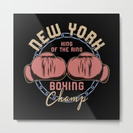 Sports - Heavyweight - Boxing Champ Metal Print