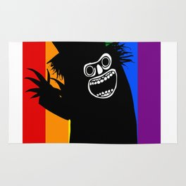 The B stands for Babadook Rug