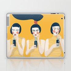Three Girls in Yellow Laptop & iPad Skin