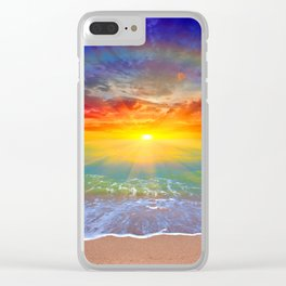 Vitamin D Clear iPhone Case
