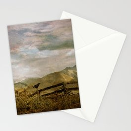 The Raven Sees Stationery Cards