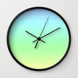 Pastel V.2 Gradient Wall Clock