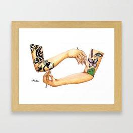 The Art Of My Skin Framed Art Print