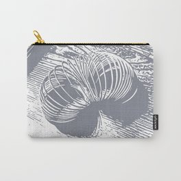 slinky grey Carry-All Pouch