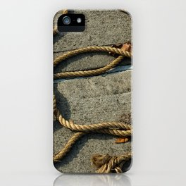 Maritime Ropes iPhone Case