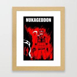 Nukageddon Niko Framed Art Print