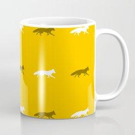 Yellow Foxes! Coffee Mug