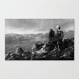 Eagle of Mongolia Canvas Print