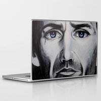 be brave Laptop & iPad Skins featuring BRAVE by John McGlynn