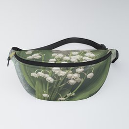 Beautiful Lily Of The Valley Fanny Pack