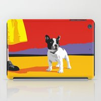 boston terrier iPad Cases featuring Boston terrier by Matt Mawson