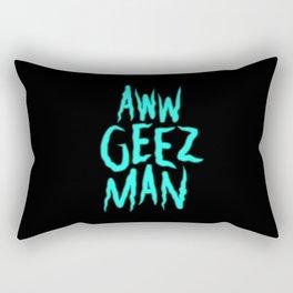 Aww Geez Man Morty Rectangular Pillow