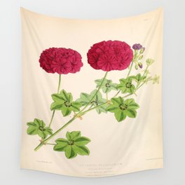 Ivy Leaved Pelargonium Wall Tapestry