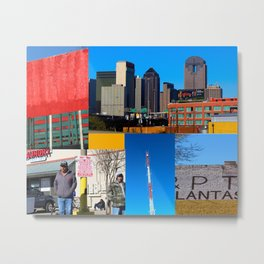 East Dallas Color Metal Print