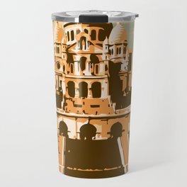 Sacré Coeur Montmartre Paris Travel Mug