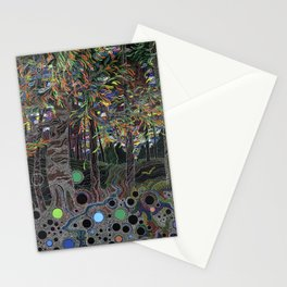 Forest of perceptions Stationery Cards