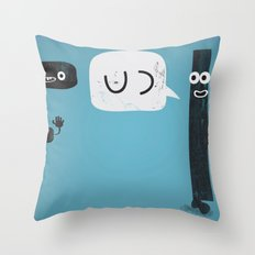 K & F Throw Pillow
