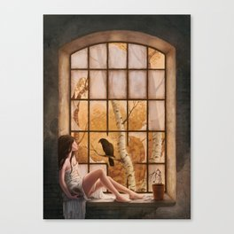 The Raven's Call Canvas Print