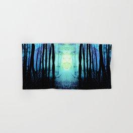 Mystic Blue Sun : Path to Imagination Hand & Bath Towel