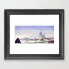 On another planet Framed Art Print