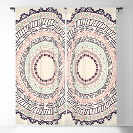 Aztec ornament pattern Blackout Curtain