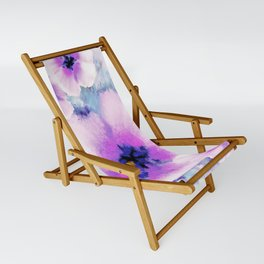Rose of Sharon Bloom Sling Chair