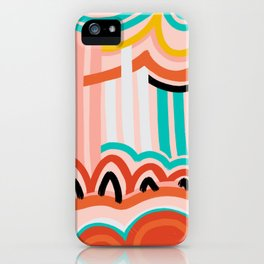 water fountain. iPhone Case