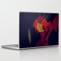 violin Laptop & iPad Skins featuring Violin by KimberosePhotography
