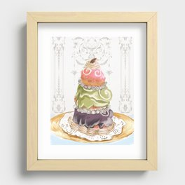 Budapest Pastry Shop Recessed Framed Print