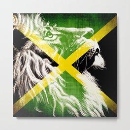 King Of Jamaica Metal Print