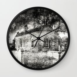 Sleepy Hollow Dutch Church Vintage Wall Clock