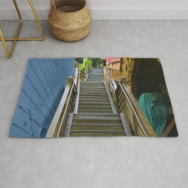 Old Cape Cod Stair Steps Rug